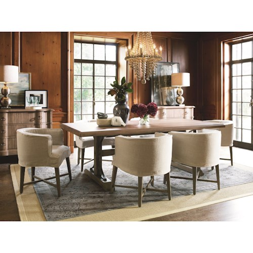 Universal Authenticity Formal Dining Room Group
