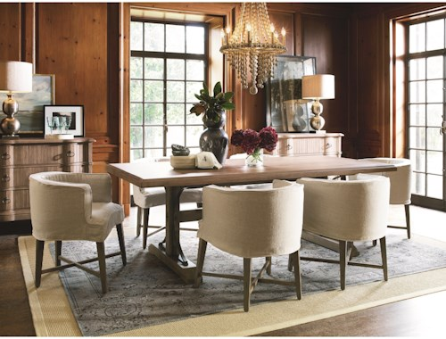 Great Rooms Authenticity Formal Dining Room Group