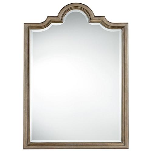 Universal Authenticity Francesco Mirror with Khaki Finished Frame
