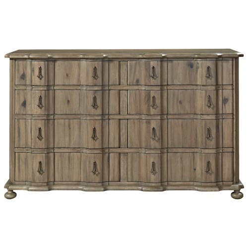 Universal Authenticity 8 Drawer Dresser with Jewelry Tray Insert