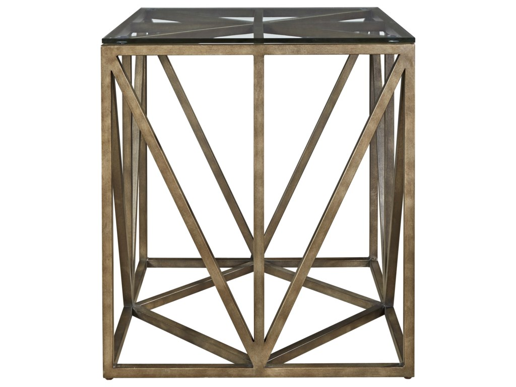 Universal AuthenticityTruss Square End Table