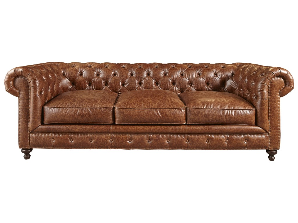 Universal berkeley chesterfield button tufted sofa