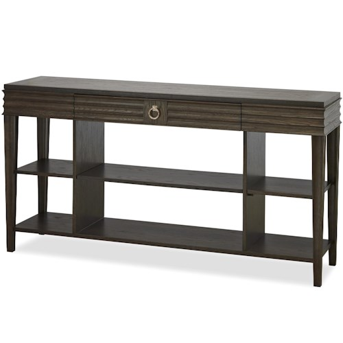 Universal California - Hollywood Hills Console Table with 2 Shelves