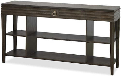Great Rooms California - Hollywood Hills Console Table with 2 Shelves