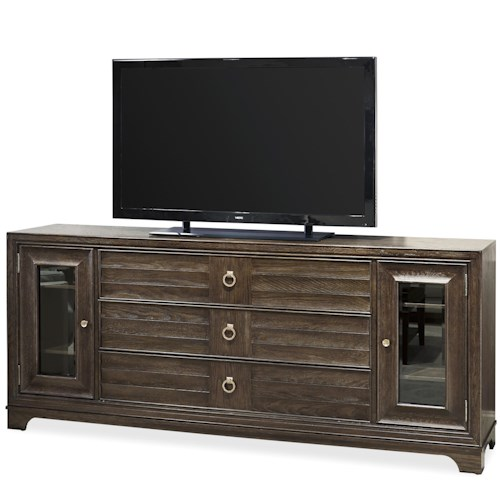 Universal California - Hollywood Hills Entertainment Console with 3 Drawers