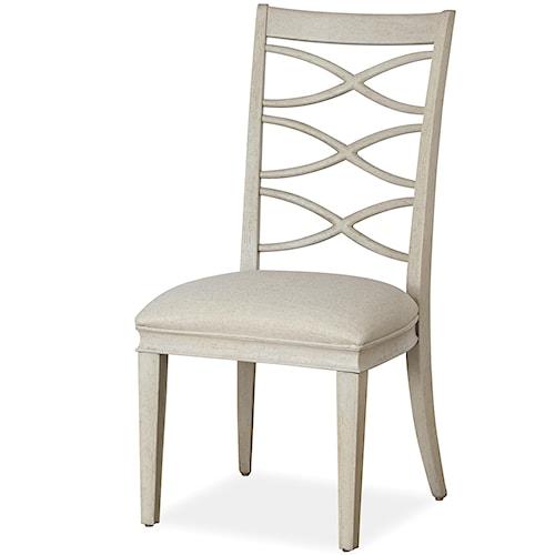 Universal California - Malibu X-Back Side Chair