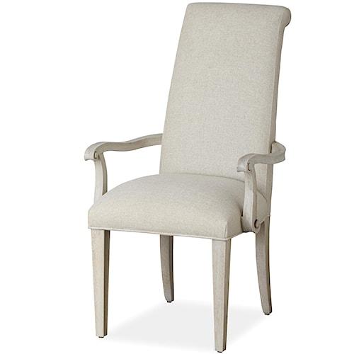 Universal California - Malibu Upholstered Arm Chair