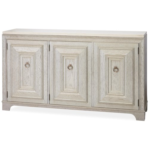 Universal California - Malibu Credenza with Stone Top