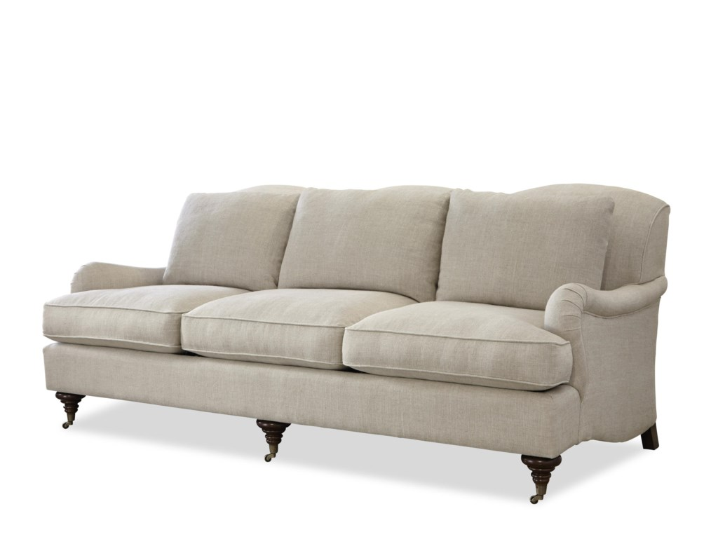 Universal Churchill Traditional Stationary Sofa With English Arms