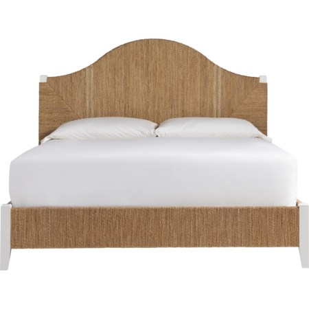 Queen Seabrook Panel Bed