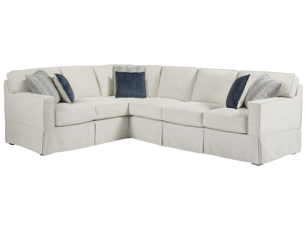 Universal Coastal Living Home - EscapeChatham Right Arm Sectional