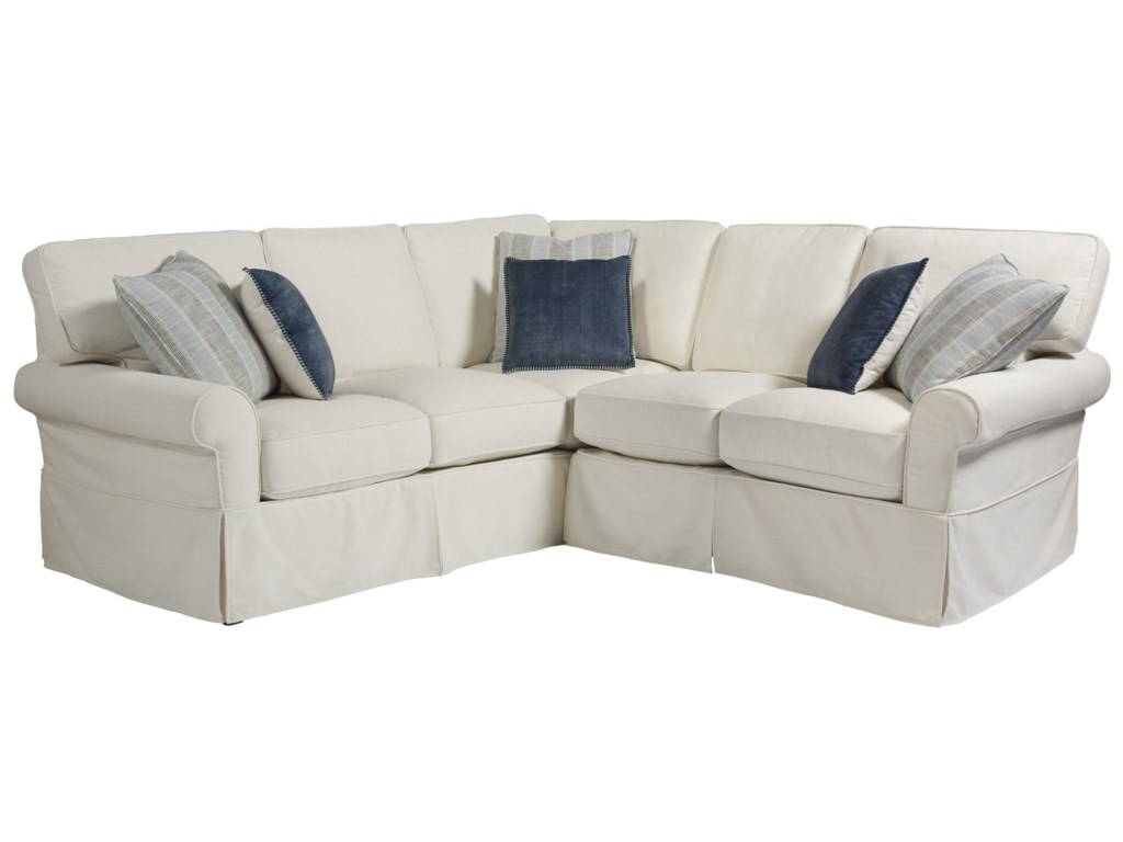 Universal Coastal Living Home - EscapeVentura Left Arm Loveseat Sectional