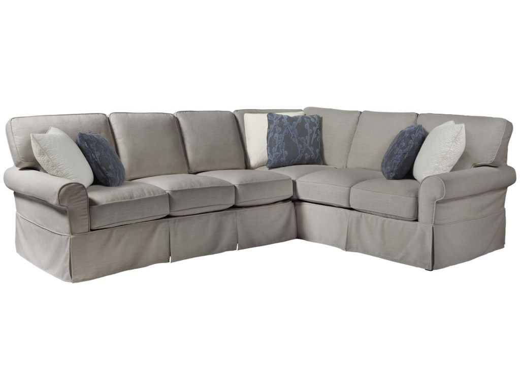 Universal Coastal Living Home - EscapeVentura Left Arm Sectional