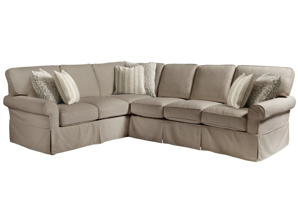 Universal Coastal Living Home - EscapeVentura Right Arm Sectional