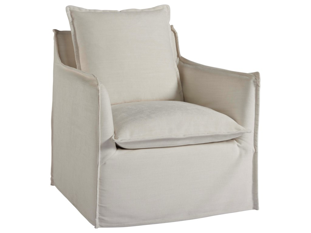 Universal Coastal Living Home - EscapeSiesta Key Swivel Chair