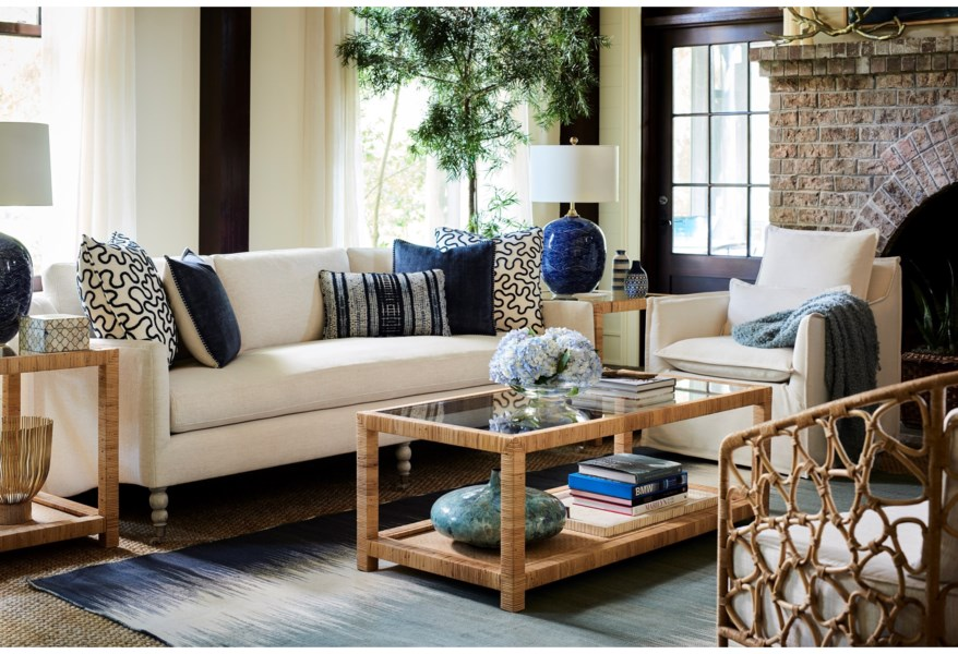 Coastal Living Home - Escape Swivel Chair