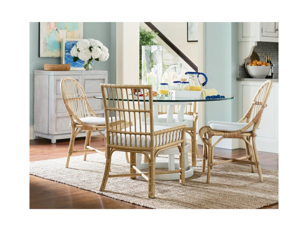 Universal Coastal Living Home - EscapeClearwater Low-Arm Chair