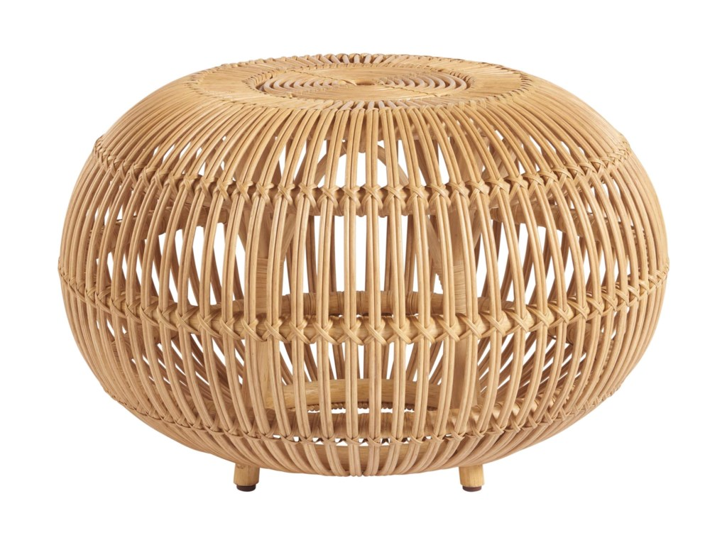 Universal Coastal Living Home - EscapeSmall Rattan Scatter Table