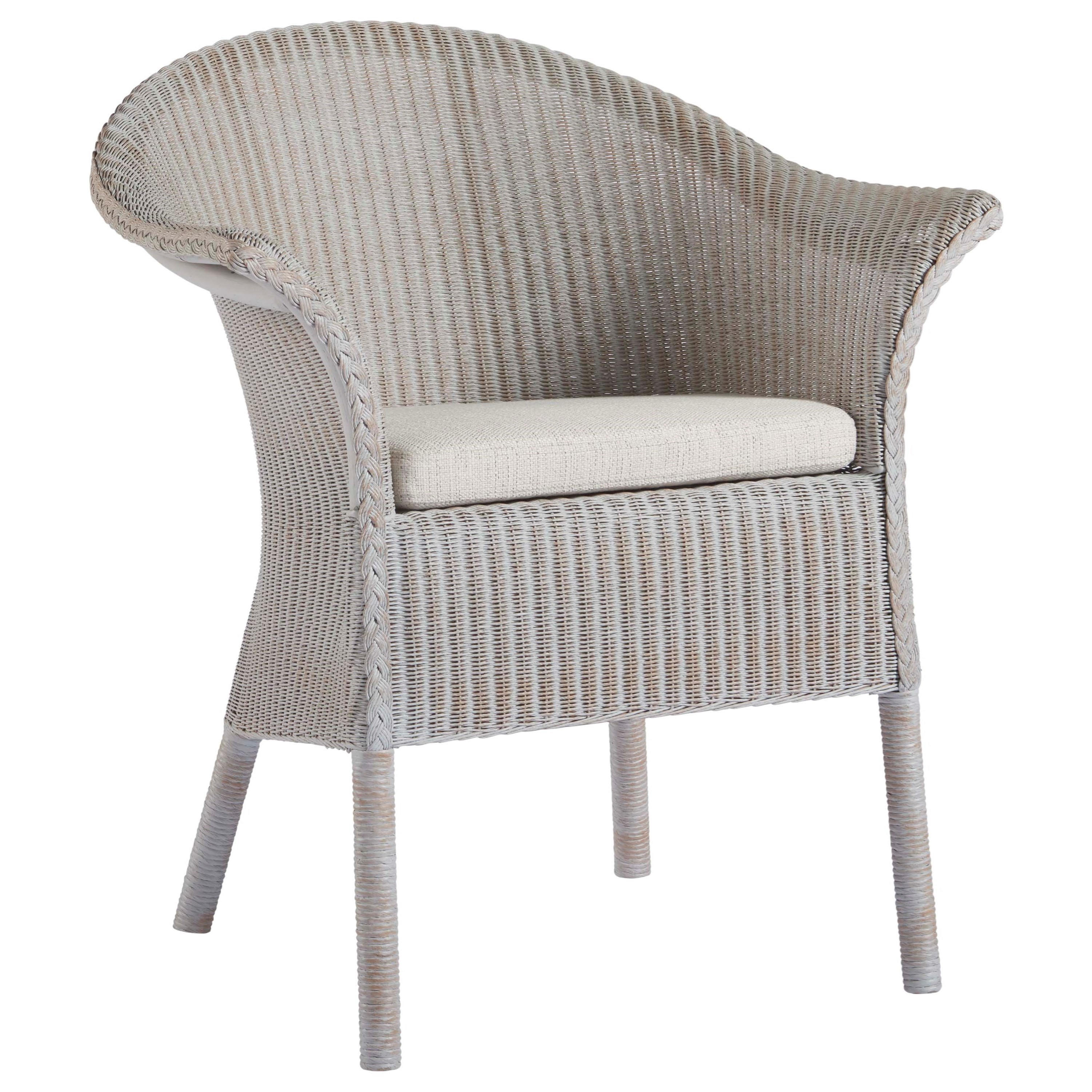 Bar Harbor Dining and Accent Chair with Braiding Detail