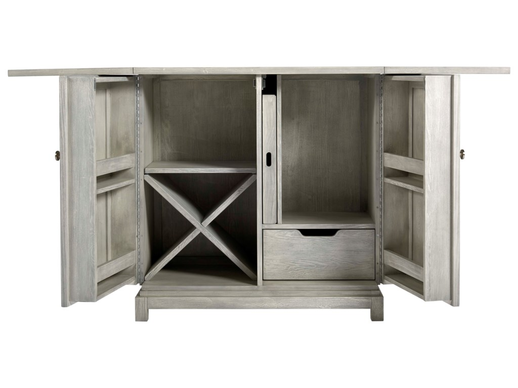 Universal Coastal Living Home - EscapeBar Cabinet