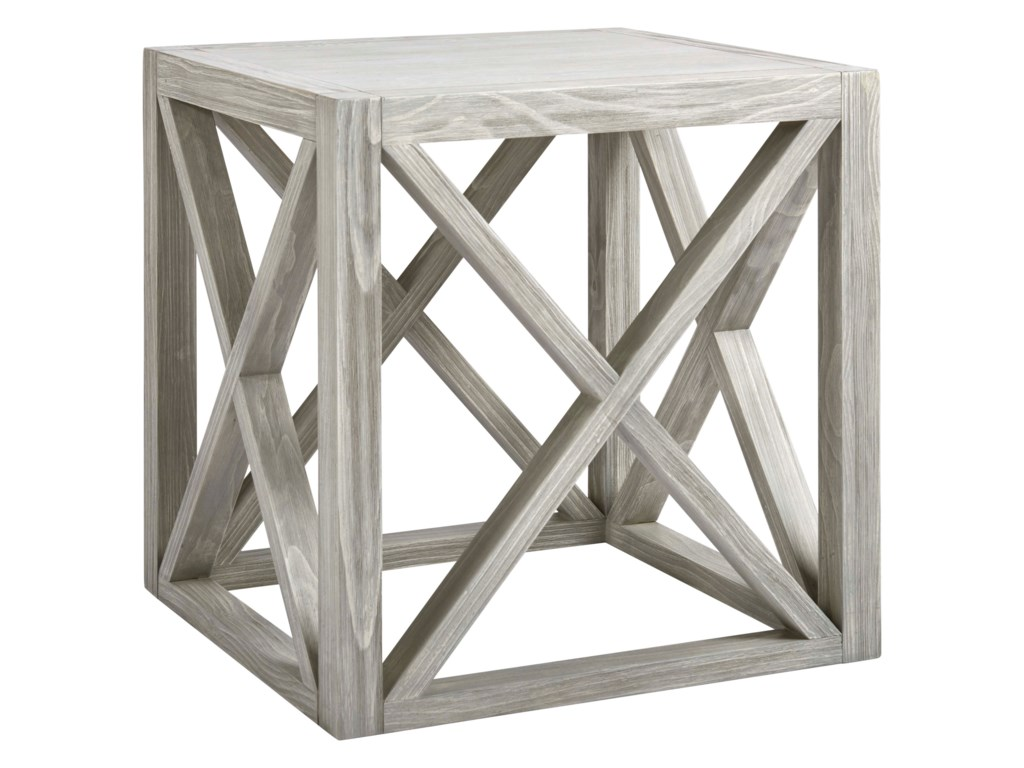 Universal Coastal Living Home - EscapeBoardwalk End Table