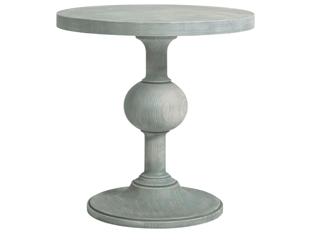 Wittman & Co. Coastal Living Home - EscapeRound Pedestal End Table