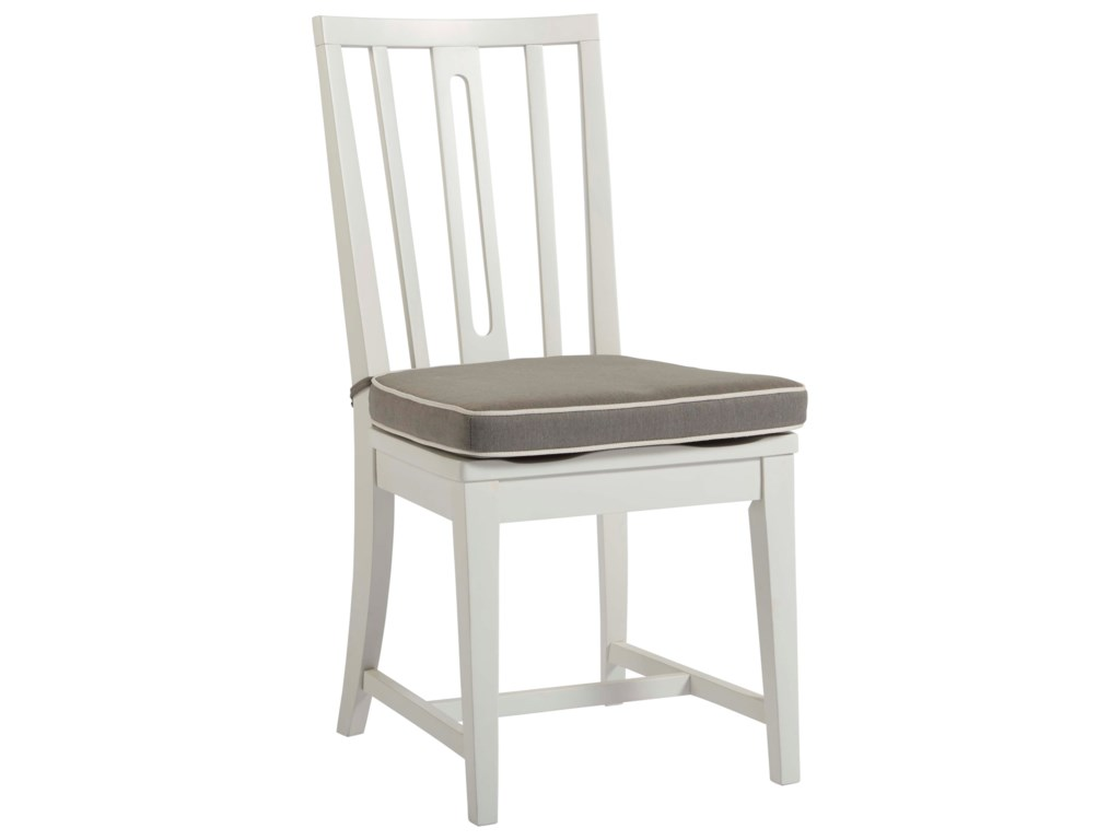 Coastal Living Home - Escape Kitchen Chair with Removable Seat Cushion by  Universal at Hudson's Furniture
