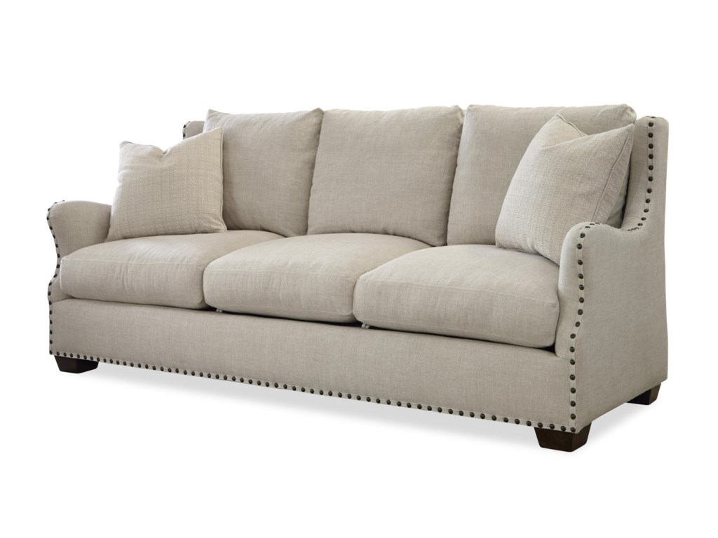 Connor Traditional Sofa With Nail Head Trim By Oconnor Designs