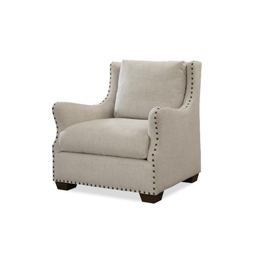 Universal Connor Traditional Chair with Nail Head Trim