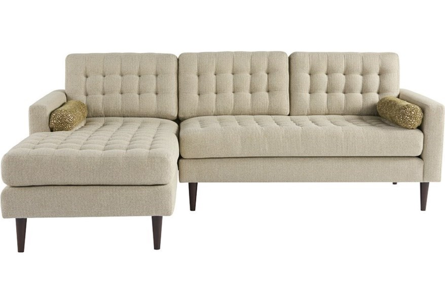 Copeland 2 Pc Sectional Sofa w/ Left Chaise