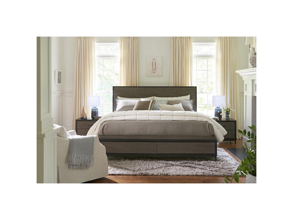 Universal CuratedSpencer Queen Storage Bed