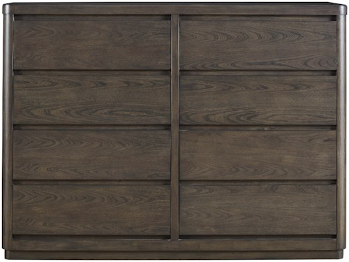 Universal Curated Roxbury Drawer Dresser with Drop-Front Drawer