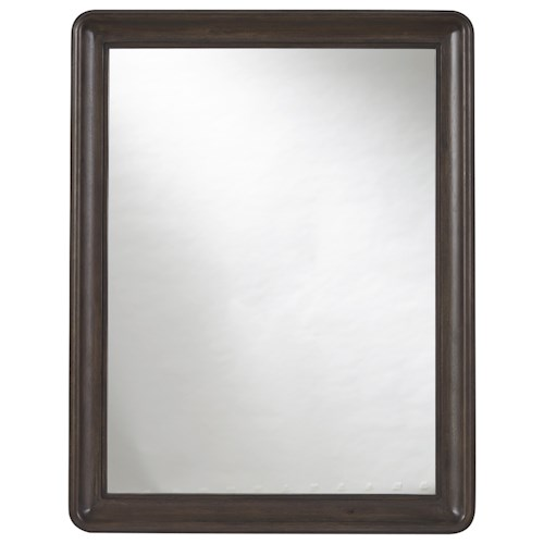 Universal Curated Roxbury Mirror with Rounded Corners