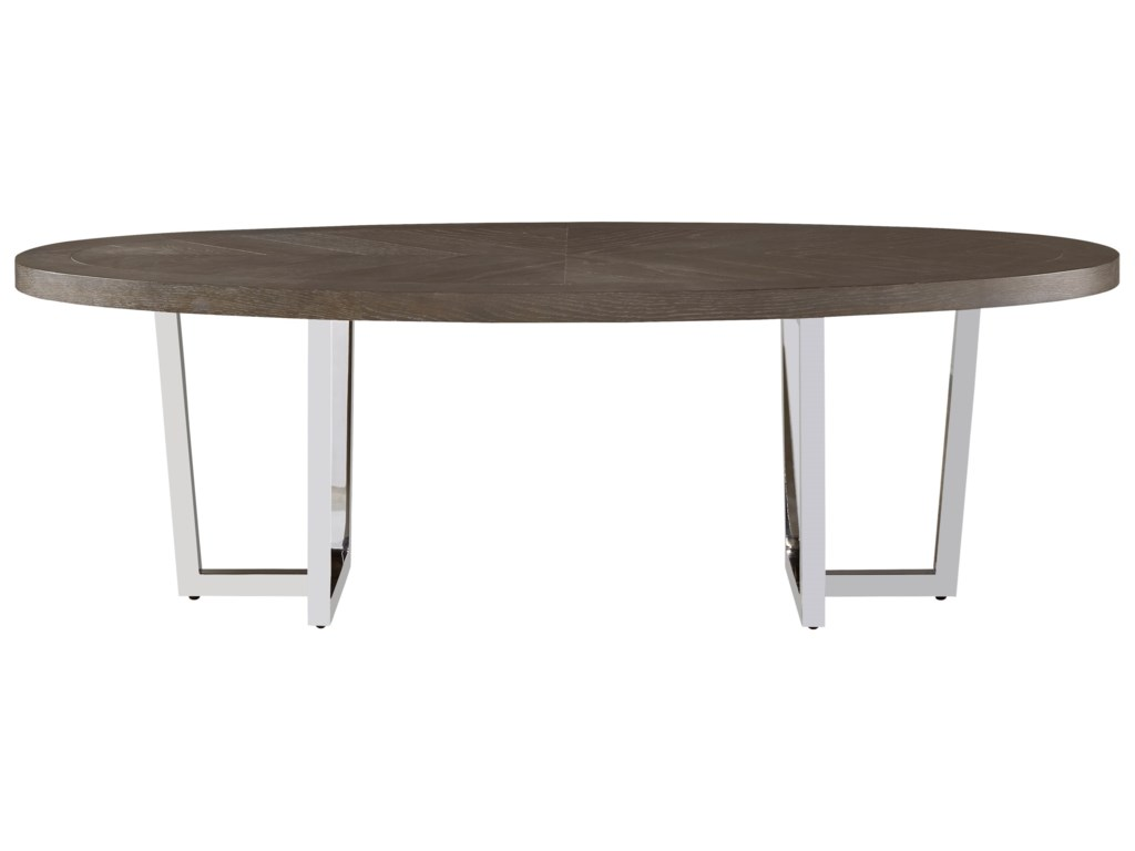 Wittman & Co. CuratedDorchester Oval Cocktail Table