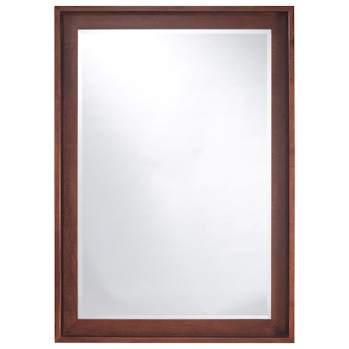 Universal Curated Newbury Mirror with Beveled Glass