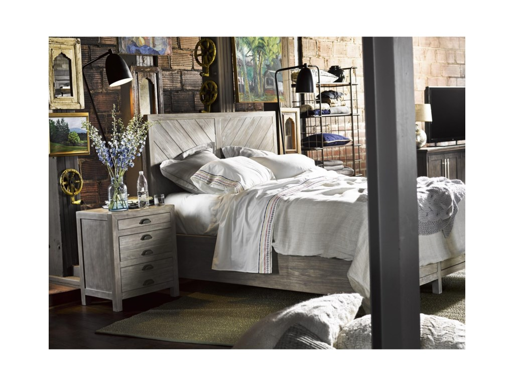 Universal CuratedBiscayne Queen Bed