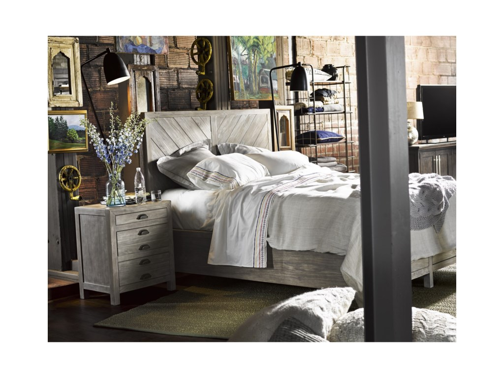 Universal CuratedBiscayne Cal King Bed