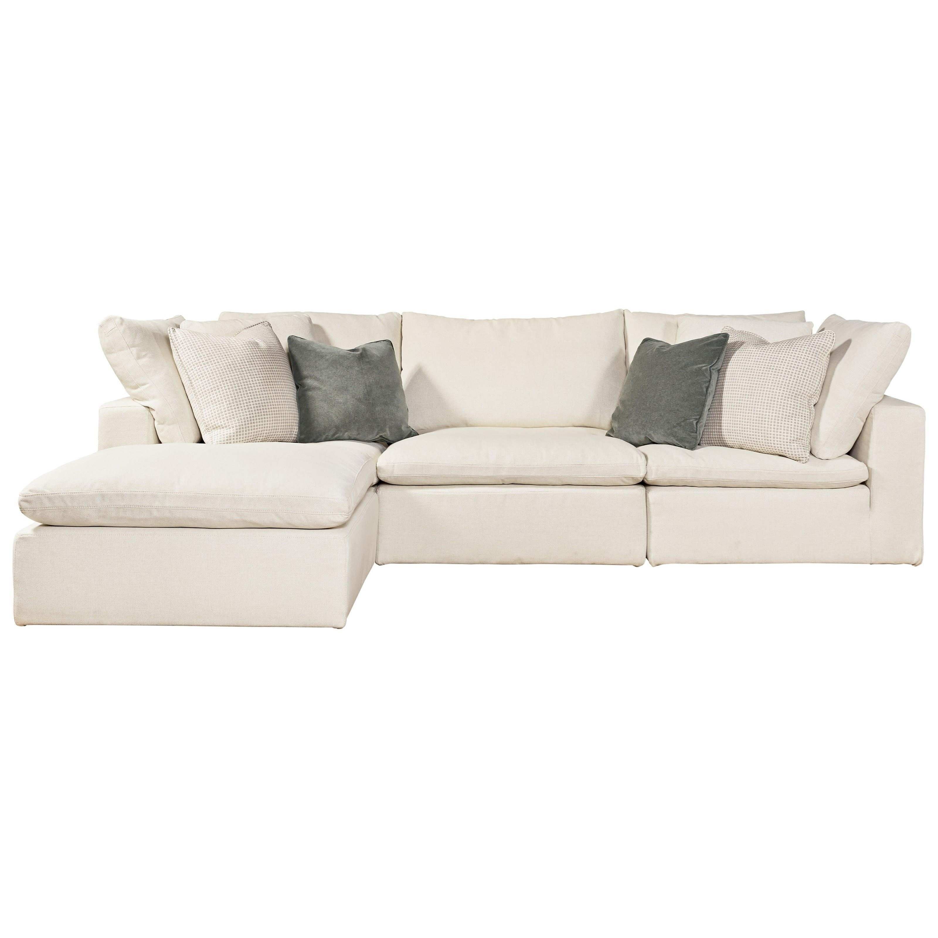 Palmer 4-Piece Sectional with Memory Foam Frame