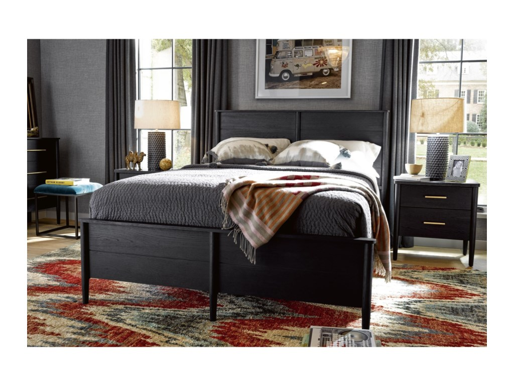 Universal CuratedLangley Bed Complete Queen 50