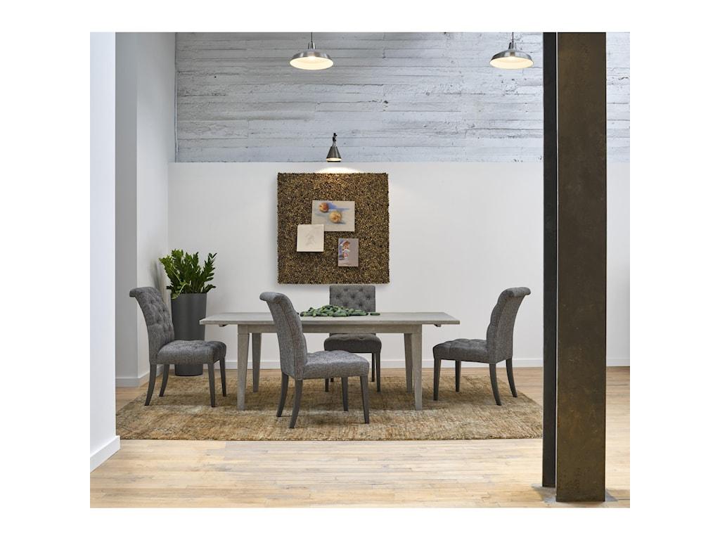 Universal CuratedDigby 84 Inch Leg Table