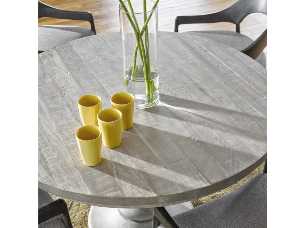 Universal CuratedNiles Round Dining Table