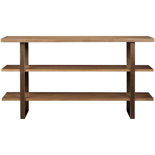 Universal Curated Roland Sideboard with Brushed Bronze Base