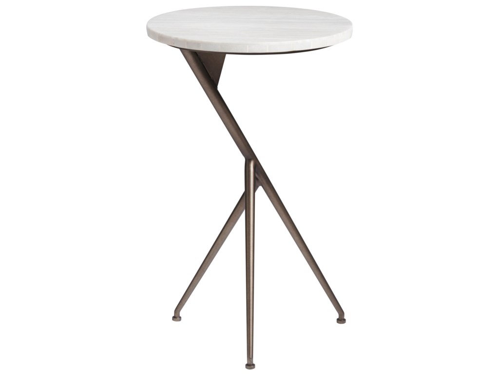 Universal CuratedOslo Round End Table