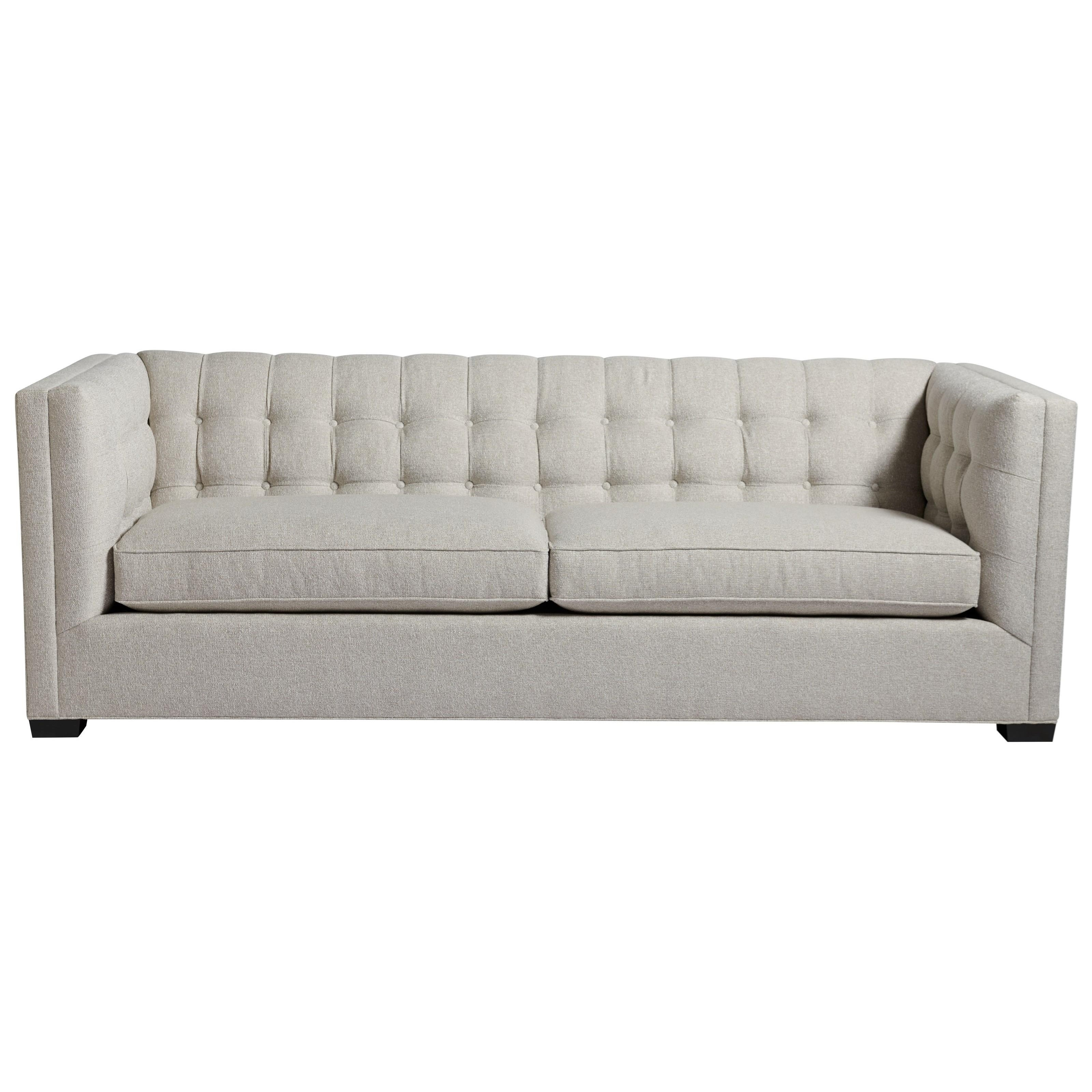Quincey Sofa with Button Tufting