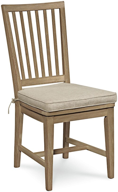Universal Curated Vertical Slat Side Dining Chair