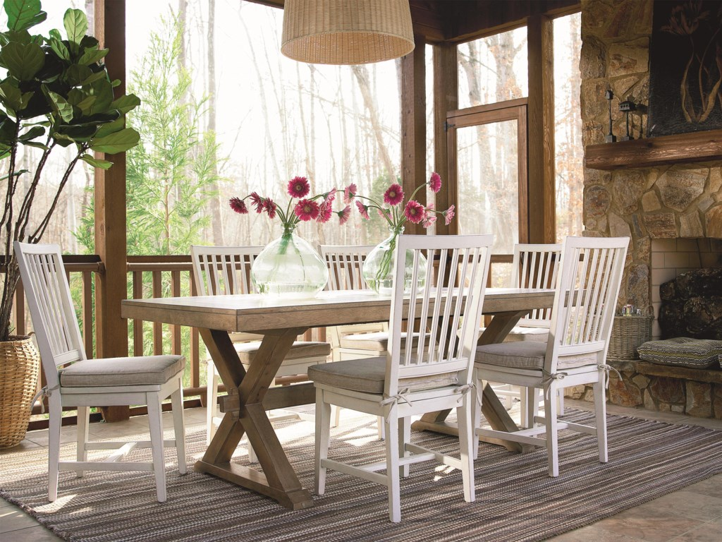 Universal CuratedVertical Slat Side Chair