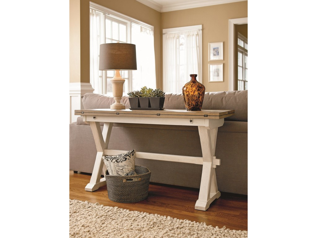 Universal CuratedDrop Leaf Console Table