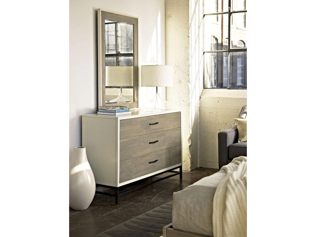 Universal Curated3 Drawer Dresser