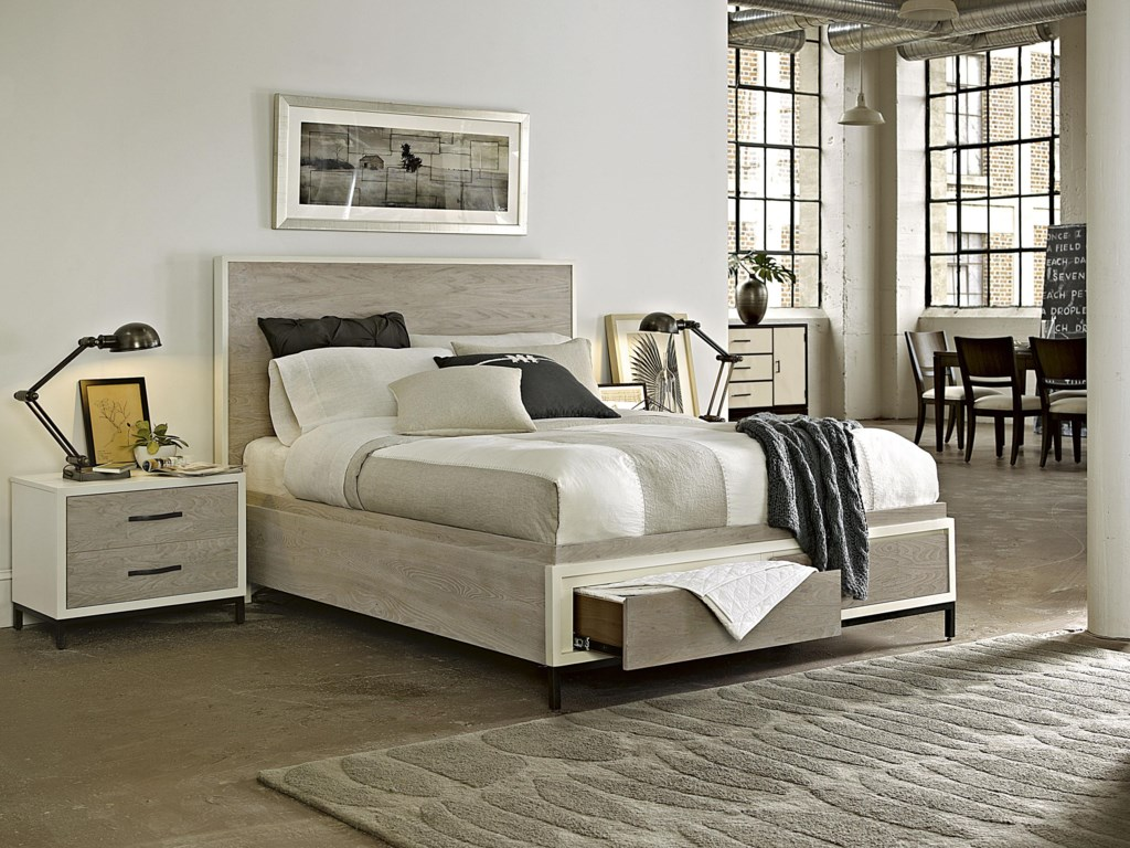 Universal CuratedQueen Spencer Storage Bed