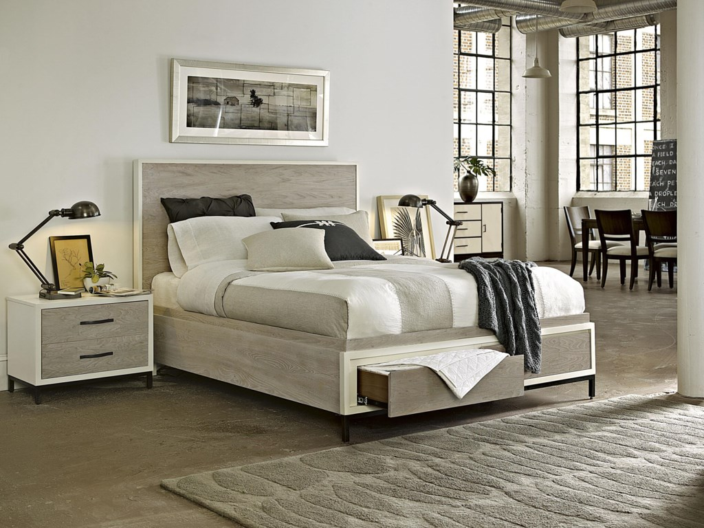 Universal CuratedCalifornia King Spencer Storage Bed